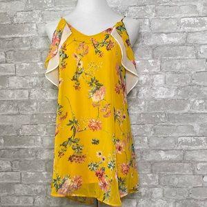 Sienna Sky off the shoulder dress